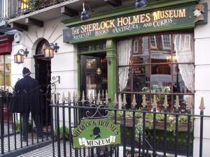 Sherlock Holmes museum in London, England